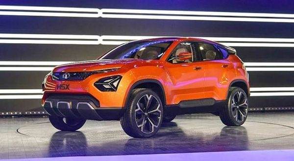 Tata's H5X SUV will be called the Harrier
