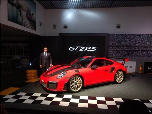 Porsche launches 911 GT2 RS in India