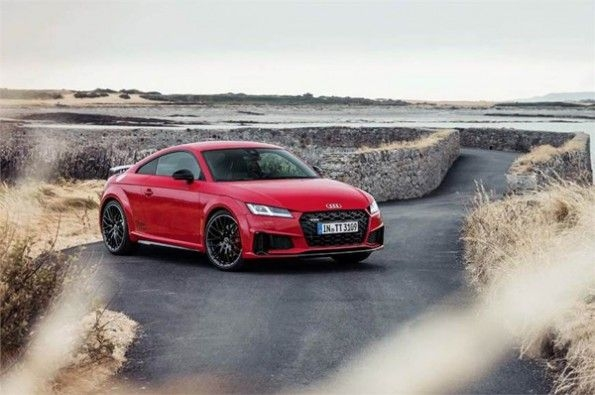 Audi has officially shown its TT.