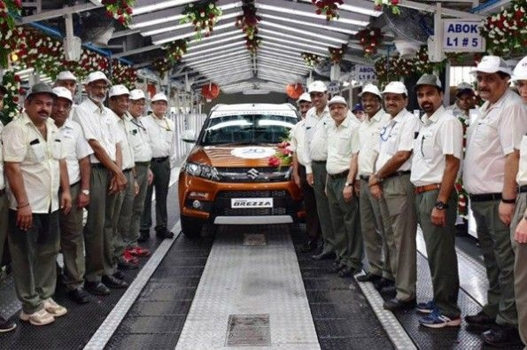 Maruti Suzuki crosses 20-million unit mark for production.