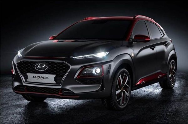 Hyundai announces an Iron Man special edition of the Kona