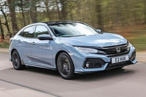 Honda takes wraps off Civic diesel automatic.