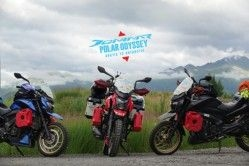 Bajaj flags off Dominar Polar Odyssey