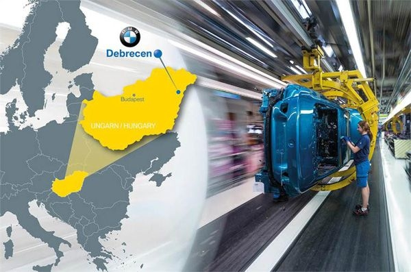 BMW to open new factory in Hungary
