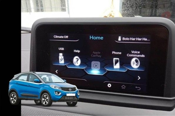 Tata's Nexon now comes with Apple CarPlay.