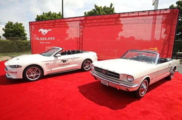 Ford makes 10 millionth Mustang.
