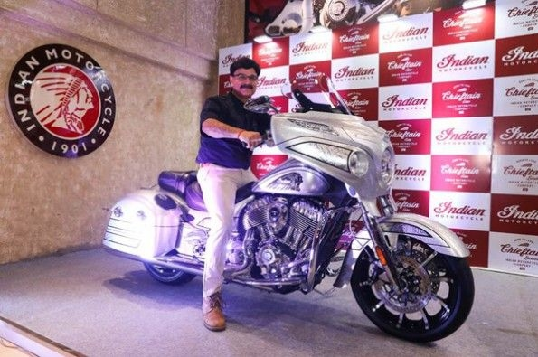 Indian launches its Chieftain Elite.