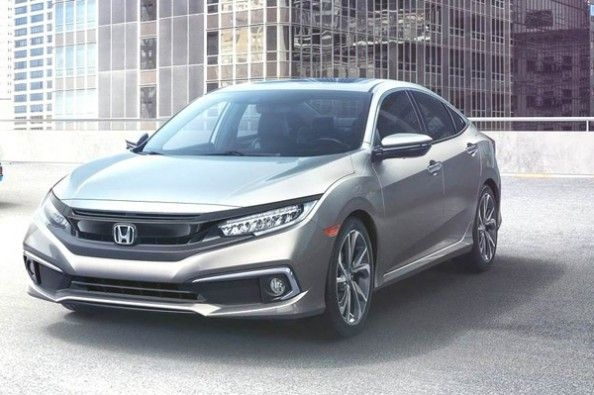 Honda's India-bound Civic facelift.