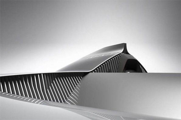 Details of electric Infiniti.
