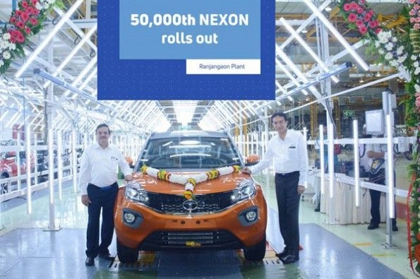 Tata rolls out 50,000th Nexon.