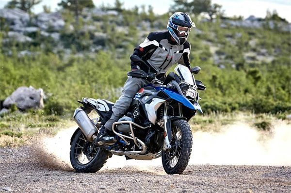 Details of BMW's R 1250 GS surface