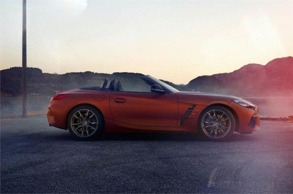 More images of BMW's updated Z4 M40i leaked.