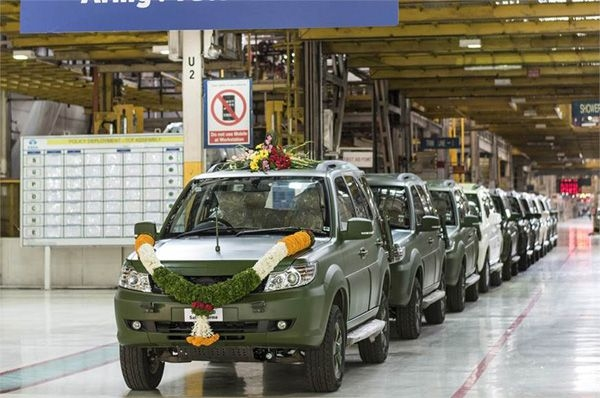 1,500th Safari Storme for the Indian Army rolls out