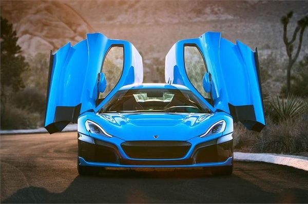 Bespoke C_Two California shown by Rimac