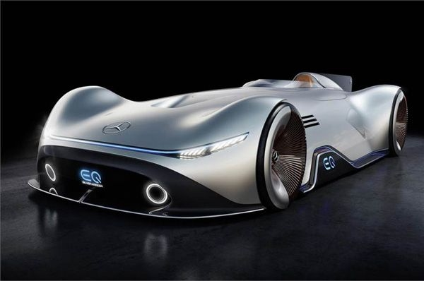 Mercedes shows 750hp EQ Silver Arrow concept