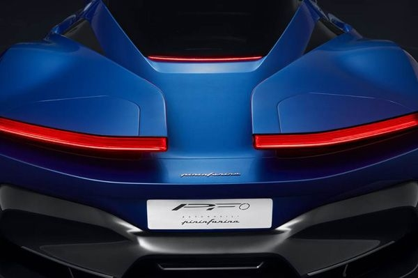 Pininfarina shows teaser image of its PF0 electric hypercar