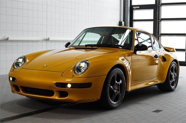 Porsche Project Gold is one-off, track only restomod 993 Turbo S