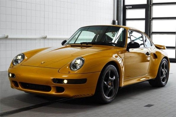 Porsche Project Gold is a one-off