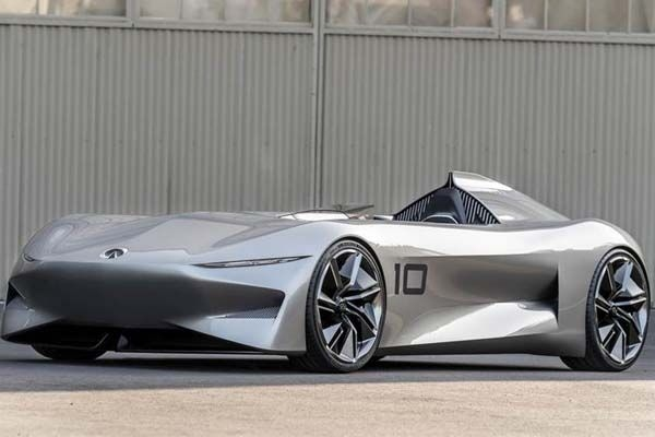 Infiniti Prototype 10 concept shows company's electrification plans