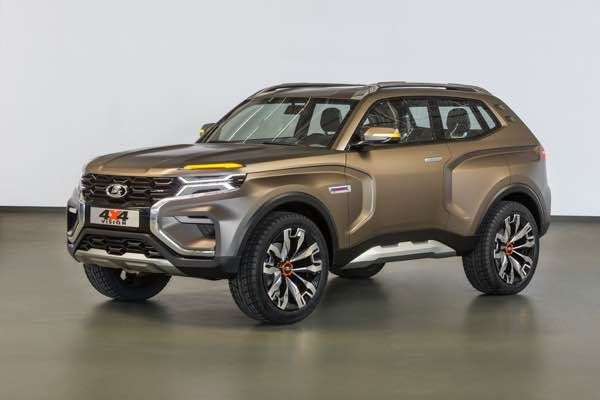 Lada 4x4 Vision Concept unveiled at Moscow Auto Show