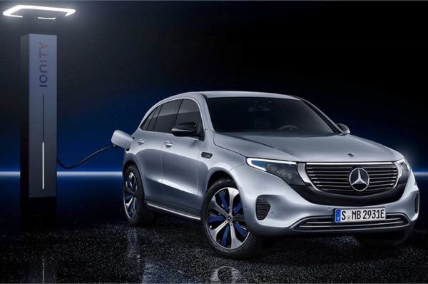 Mercedes-Benz EQC all-electric SUV revealed
