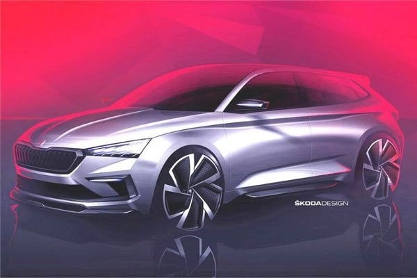 Skoda Vision RS Concept global debut in October