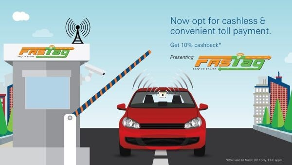 All toll booths to get FASTags in India