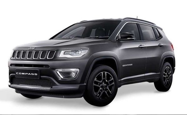 Jeep Compass Black Pack Edition launched in India, priced from Rs. 20.59 lakhs