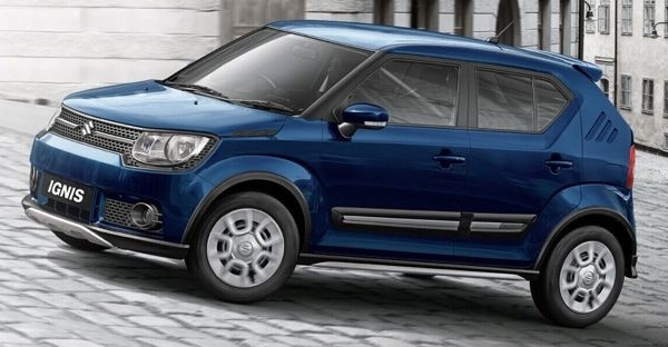 Maruti Ignis special edition launched with cross hatch elements