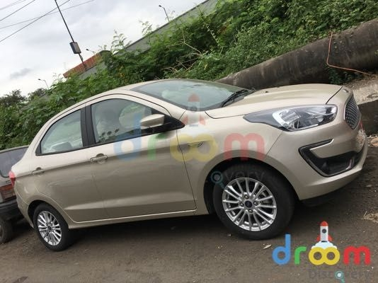 Ford Aspire facelift spotted ahead of October 4 launch