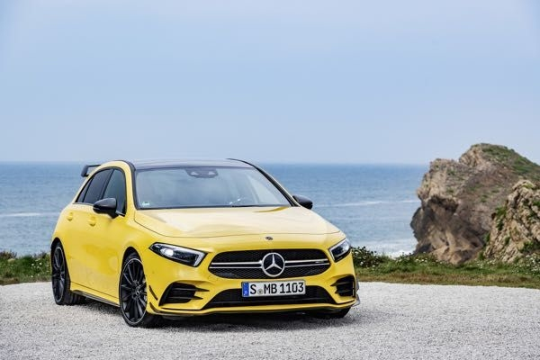 Mercedes-AMG A35 revealed globally, 301 HP under the hood