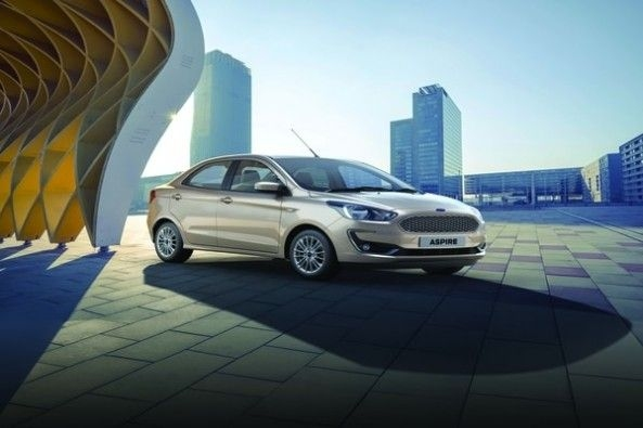 New Ford Aspire Exteriors