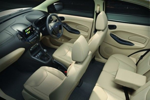 New Ford Aspire Interiors