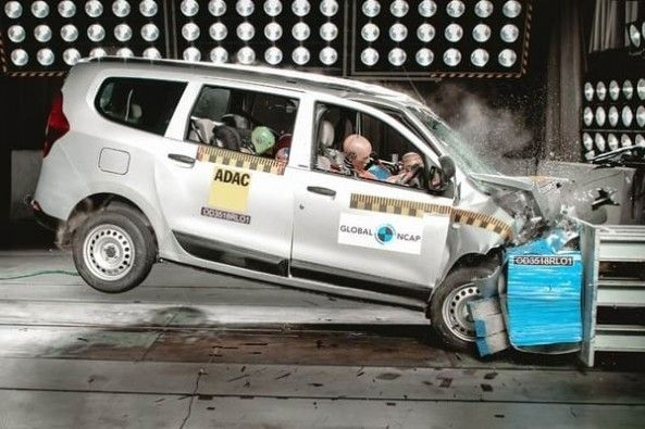 Renault Lodgy Crash Test