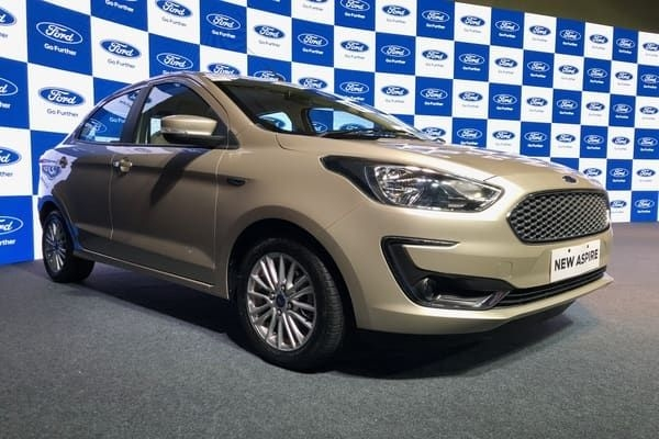 Ford Aspire Facelift Launched, Priced From Rs. 5.55 Lakhs