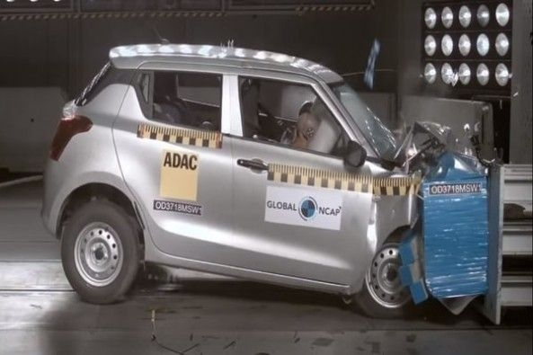 Swift Crash Test
