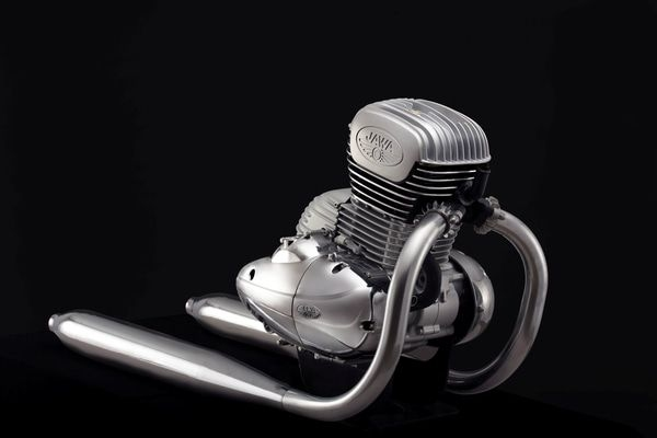 India Bound New Jawa Engine Revealed