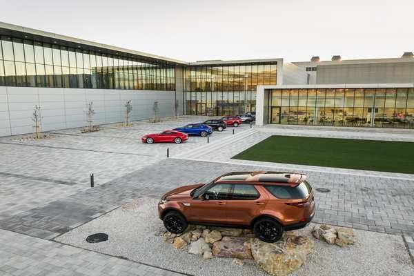 Jaguar Land Rover Opens Manufacturing Facility In Slovakia