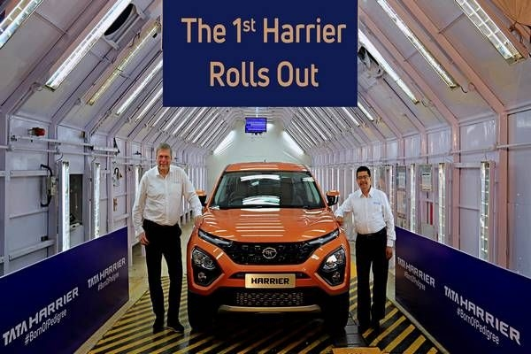 Tata Motors Rolls Out The First Harrier, Production Car Revealed