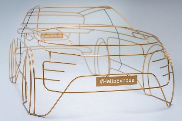 Next-Gen Land Rover Evoque Teased