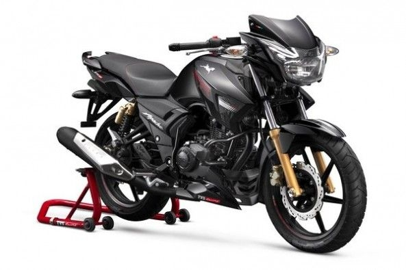 TVS Apache RTR 180 Front