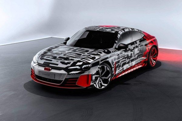 Audi E-Tron GT Concept Revealed, Ahead Of Its Debut