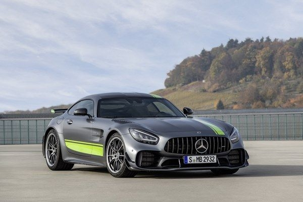 2020 Mercedes AMG GT R Pro Showcased At LA Auto Show