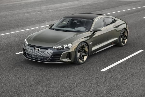 Audi E-Tron GT Concept Unveiled At The LA Auto Show