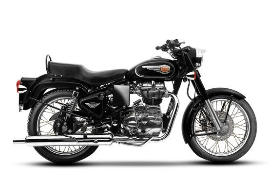 Royal Enfield Bullet Updated With Rear Disc Brake