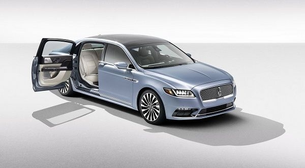 Lincoln Continental 80th Anniversary Coach Door Edition Launched