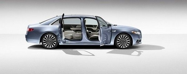Lincoln Continental 80th Anniversary Side