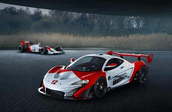 McLaren P1 GTR MSO Bespoke Model Revealed