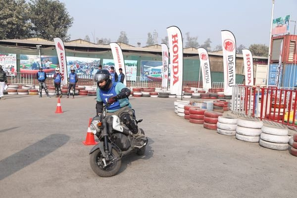 Honda Hunts For Racing Talent In Delhi