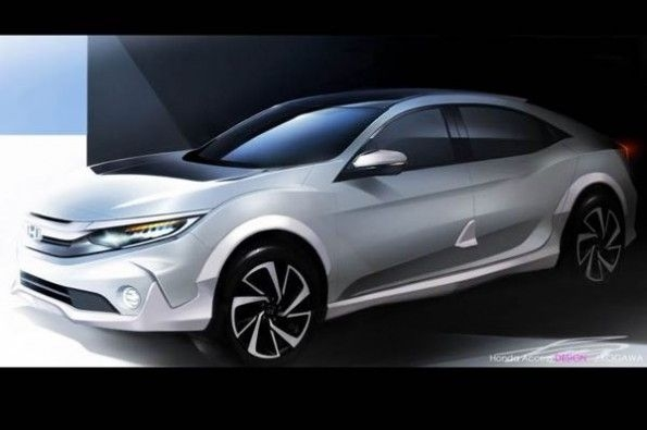 Honda Civic Cross Hatch Teaser